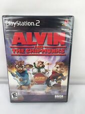 ALVIN AND THE CHIPMUNKS THE GAME Playstation 2 PS2 Brand New Sealed