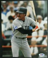 Wade Boggs Boston Red Sox HOF Autographed Photo 8x10 Signed PSA