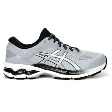ASICS Men's Gel-Kayano 26 Piedmont Grey/Pure Silver Running Shoes 1011A541.02...
