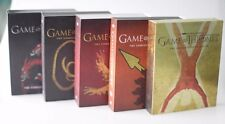 Game of Thrones 1-5 complete collection Best buy ultra rare gift box set sigils