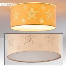 Plafonnier Lustre Lampe suspension Lampe de chambre à coucher Métal/Tissu 173897