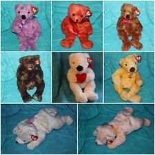 "TY CLASSIC PLUSH BEAR 13-15"" BUTTERBEARY BRODERICK ETC  ~ U-PICK CHOICE ~"