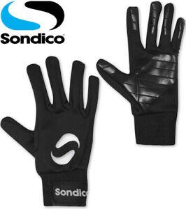 Sondico Gloves Junior Kids Boys Football Sports Gym Running