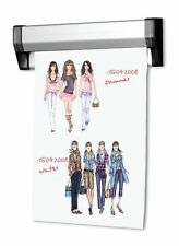 7x Plakathalter Klemmschiene Ladeneinrichtung Banner Werbung Plakat Aufsteller