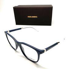 Dolce & Gabbana DG 5037 3094 Blue Men Authentic Eyeglasses Frame 53-20