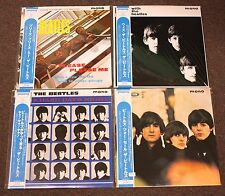 Beatles 40th Anniversary Complete Set VINYL LP Records EMI Toshiba Japan Obi