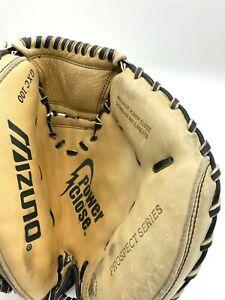 Mizuno Catchers Mitt Glove GXC 100 Leather Youth RHT Baseball Prospect Series