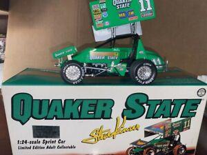 Steve Kinser 1:24 1997 #11 Quaker State Sprint Car  Action 1 of 6000