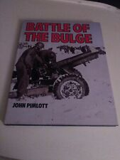 Battle Of The Bulge John Pimlott Book with DJ