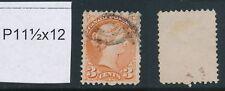 CANADA, 1873 3c dull red P11½x12, SG95, cat £24