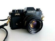 Yashica FR  Kleinbild Spiegelreflexkamera mit Objektiv 50 mm Retro Kamera