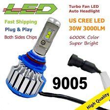 NEW LED HEADLIGHT 9005 HB3 HB4 H4 H7 H9 H11 9006 H1 H3 35W 6000K 3000LM 1PC
