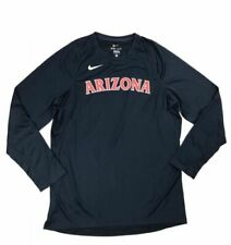 Nike Mens Large Arizona Wildcats Basketball Long Sleeve Elite Dri Fit 802309 C6