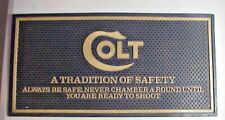 COLT A Tradition of Safety RUBBER COUNTER MAT from Gun Store