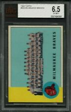1963 Topps #503 Milwaukee Braves Team BVG 6.5 EX-MT+ HI# SHORT PRINT SP SETBREAK