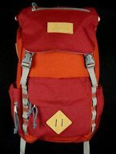 NWOT L.L Bean Backpack Day pack Hiking Orange & Burgandy