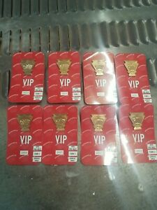 Lot of 8 New Indianapolis 500 Pit Badge, VIP, 1997