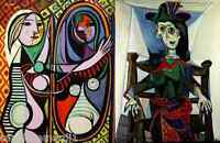 x11 set of Picasso paintings