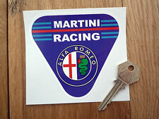 ALFA ROMEO MARTINI RACING Triangular Race Car STICKER 100mm Touring Rally Sports