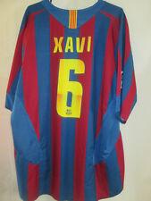 "Barcelona 2005-2006 Casa Xavi 6 Fútbol camisa tamaño Extra Grande 45 "" -47"" / 9438"