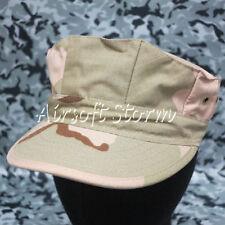 Airsoft Paintball Gear MIL-SPEC Marine Cadet Patrol Cap Hat Desert Camo