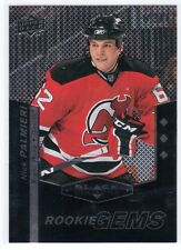 10-11 Black Diamond Triple #164 Nick Palmieri RC