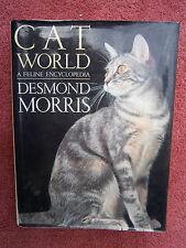 CAT  WORLD   A FELINE ENCYCLOPEDIA   1996  FIRST  EDITION  DESMOND  MORRIS