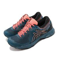 Asics Gel-Sonoma 4 GTX Gore-Tex Mako Blue Coral Women Trail Running 1012A191-400