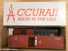 Accurail HO #5399 DATA-ONLY OXIDE 50' RIVETED COMBO DOOR BOXCAR