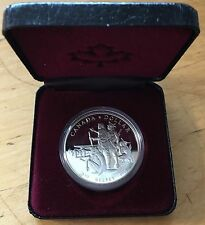 Canada 1990 Silver Dollar, KM-170, Proof, Henry Kelsey (Box5)