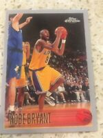 KOBE BRYANT Rookie RP #138 LA Lakers RC Mamba '96 Chrome