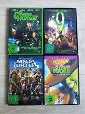 DVD Sammlung: Fantasy-Filme Paket / Ninja Turtles, Die Maske, #9 (Tim Burton),..