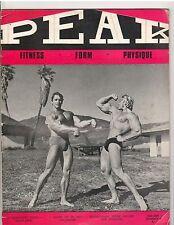 PEAK MUSCLE bodybuilding magazine/ARNOLD SCHWARZENEGGER/Draper Vol.1 #8