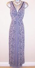 Stunning Fat Face Ditsy Floral Drape Maxi Evening Occasion Summer Dress Size 10