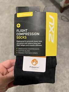 2XU flight compression socks, unisex S