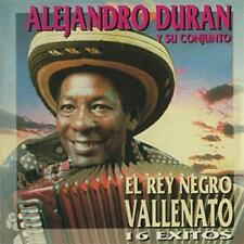 Alejandro Duran y Su Conjunto el Rey Negro Vallenato 16 Exitos CD Sellado