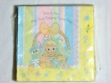 NEW~PRECIOUS MOMENTS~PINK OR BLUE-16-PAPER LUNCH NAPKINS- PARTY SUPPLIES