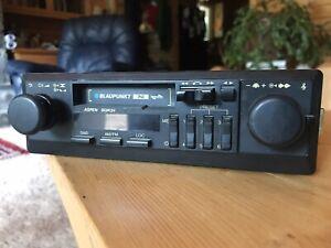 BMW Mercedes Benz Porsche Blaupunkt Aspen SQR24 AM FM Cassette Radio WORKS!