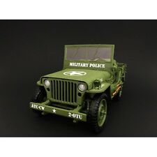 1/18 Scale - American Diorama (Ad 77406) Us Army Wwii Jeep Military Police