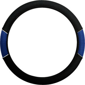 Blue Cloth Steering Wheel Cover Soft Grip Glove Ford Transit Connect (2013 on)