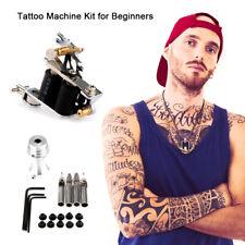 Complete Tattoo Kit for Beginners Power Supply& Ink& Needle Tattoo Machine Guns