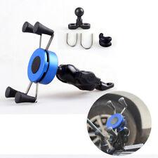 Universal Motorcycle Bicycle Handlebar X Grip Mount Mobile Phone Holder Bracket