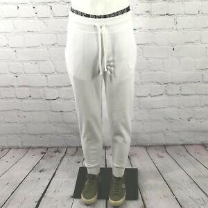 Men's True Religion Sweatpants in White Cotton Joggers Track Lounge Pants S - XL