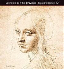LEONARDO DA VINCI DRAWINGS MASTERPIECES OF ART - GRANGE, SUSAN - NEW HARDCOVER B