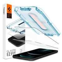 iPhone 12 Mini, 12/12Pro, 12 Pro Max Screen Protector | Spigen®[GLAS.tR EZ FIT]