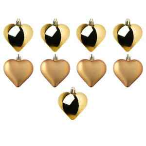 2021 All occasion decoration Lucky Golden Heart 9/Pk