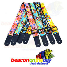 Adjustable Strap MU0024 Guitar Strap Geometric Design
