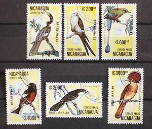 Nicaragua 1989 Birds Used