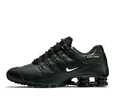 Nike Shox NZ EU Mens Running Shoes Black White 501524-091