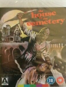 SEALED The House By The Cemetery ARROW (Blu-ray, 2012) No GST & FREE POSTAGE